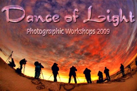 Logo for Dance of Light workshops 2009