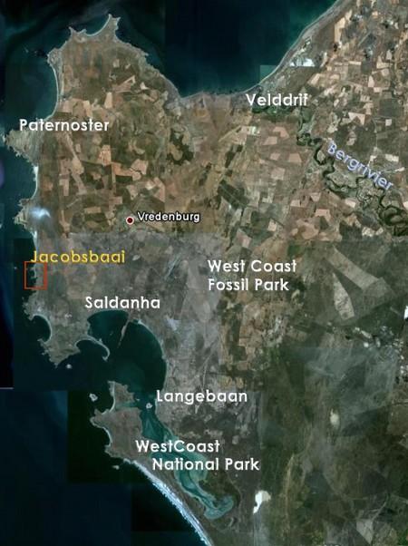 Jacobsbaai and surroundings