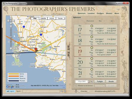 The Photographers Ephemeris